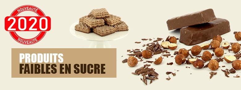 Produits pauvres en sucre