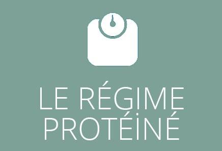 Le régime protéiné